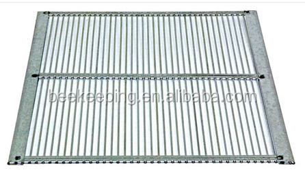 2017 New style beekeeping equipment metal bound queen excluder