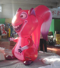 2015 hot selling inflatable squirrel