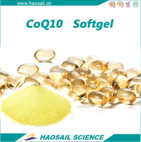 HIGH QUALITY HALAL KOSHER GMP NON-GMO COENZYME Q10 COQ10 50MG OEM PRIVATE LABEL UBIQUINONE