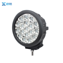 Hot sale ECE Spot / Flood beam Offroad 7 inch round 90w led car dome light