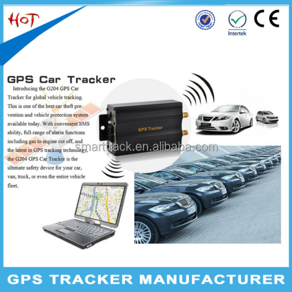 Android/IOS gps tracker tk103b built-in GPS GSM antenna support oem gps tracking device