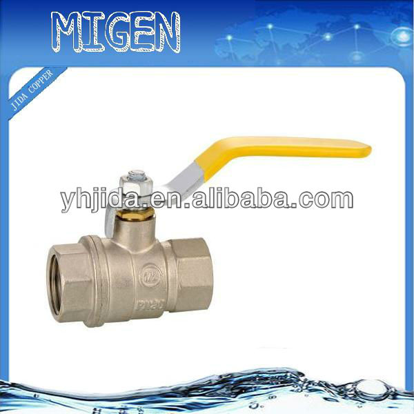 lead free CDA360 Full Pore Forged Brass ball valve