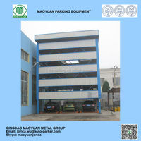 multilayer underground automatic car elevator parking systems