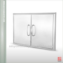 Outdoor Stainless Steel Cabinet Doors