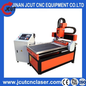 Solid Lathe Bed Ncstudio System Ball Screw,Linear Guideway Driving Medium-size 3D PCB/ATC CNC router machine JCUT-6090