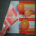 non-toxic UV print fruit print dinner cut mat
