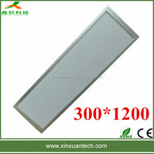 Factory best price led light panel 40w hanging ceiling lights 300x1200mm