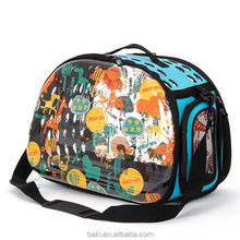 Multi Color Pet Travel Carrier Pet Dog Carrier With Handle Airline Approved Cat Bag