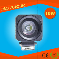 Factory Directly 9-60v Mini Size 2 inch 10W LED Work Light for motorcycle