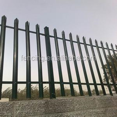 wrought iron fencing supplies / D palisade fence,W palisade fence (factory price)