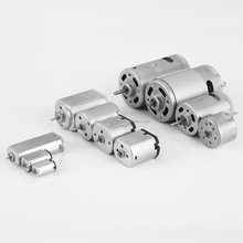 26 Years' Industry Experience Custom Voltage Torque Speed Axial Length Carbon Brushed Micro DC Motor