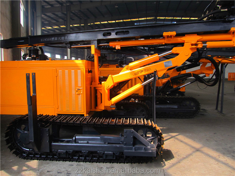 City Engineering and Construction equipment-KG930AD Electric motor driven High Pressure Crawler used blast drilling rig