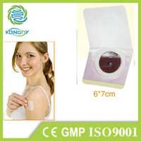 Chinese natural herbal foot detox belly slimming patch