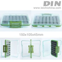 2012 DIN new Exclusive Waterproof plastic fly fishing box
