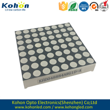 Shenzhen 1.9mm 3mm 5mm 8x8 red green blue led dot matrix display module for screen