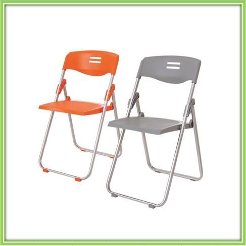 Hot Sale Folding Plastic Chair With Steel Frame