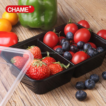 Reusable plastic food storage containers with lids,square food containers airtight