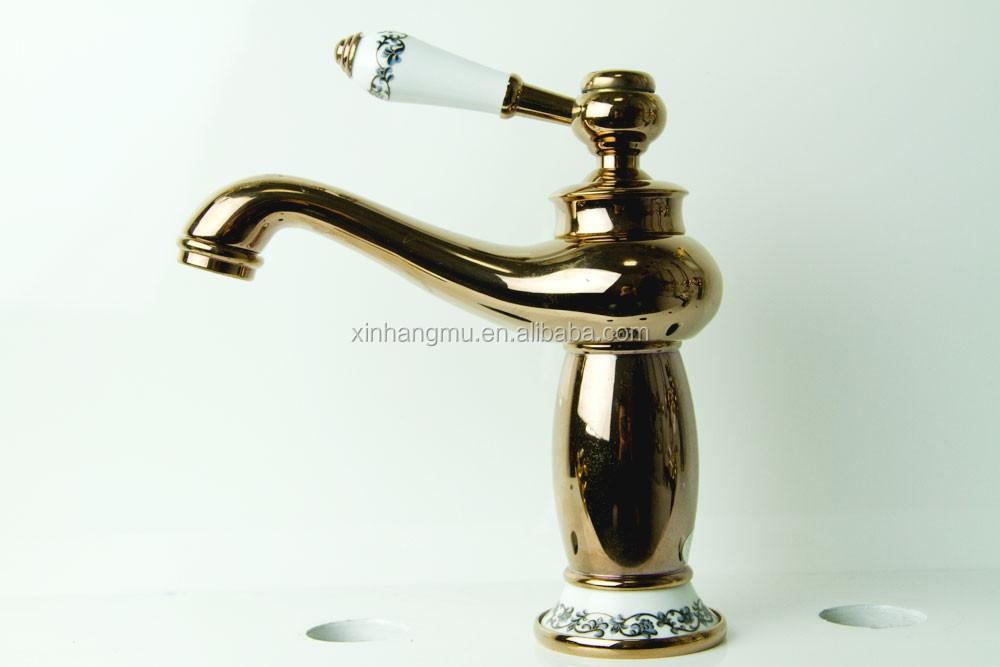 Cheap Bathroom Faucets Single Handle Silver Brass Vessel: Single Hole Brass Basin Application Bathroom Vessel Sink
