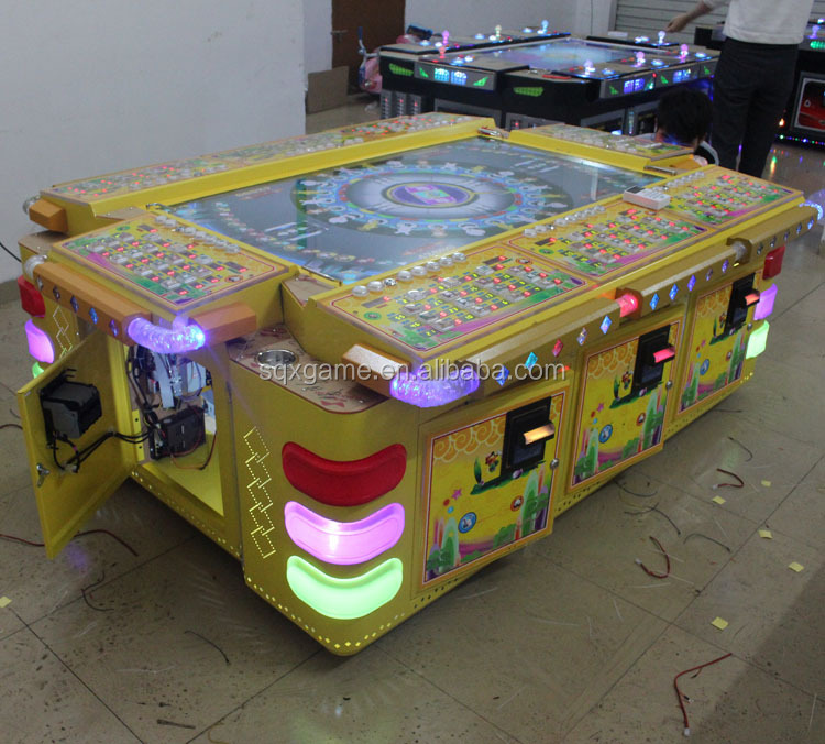 Paraguay funny arcade fish game machines sale with high quality