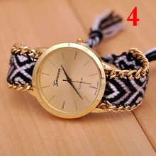 6Colors Hot Selling Top Quality Watch Women Colorful Strap Korea Style Girl Watch Geneva Brand