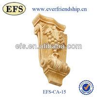 wood hand carved decorative bar bracket