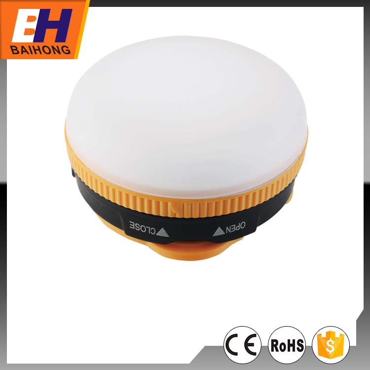 BH-6123, dry batteries powered, 3SMD Circle emergency light, small household articles 3w led camping lantern