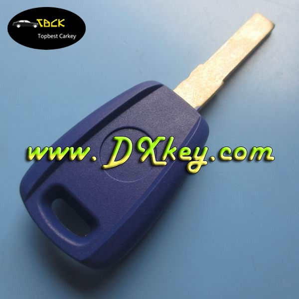 Blue color remote control holder car key silicone case for fiat spare parts