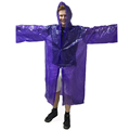 Adult size disposable camping outdoor rain ponchos/coat