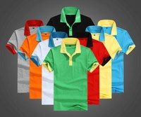 Wholesale New Design Fashion Polo T-Shirt, Men And Women Short Sleeves Polo Collar T-shirt
