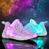 USB Charger Glowing Sneakers Led Children Lighting Shoes Boys Girls Illuminated Optical Fiber Luminous Sneakers
