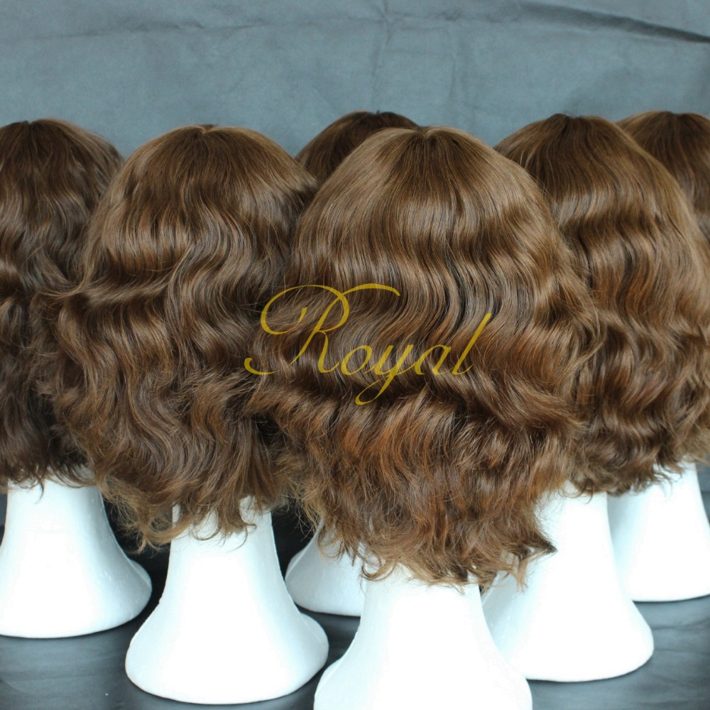 Qingdao Factory Low Prices Virgin Human Hair Silk Top Invisible Knot Jewish Wig Kosher Wigs in Low Price