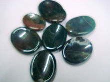 Bloodstone worry thumb reiki healing metaphysical stone