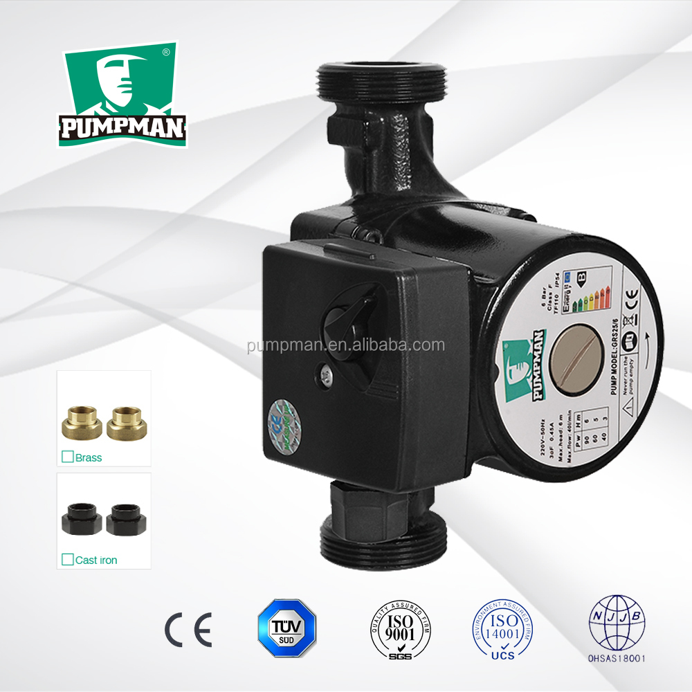 GRS32/6-2 2015 PUMPMAN new high quality electric water pressure booster pump for shower