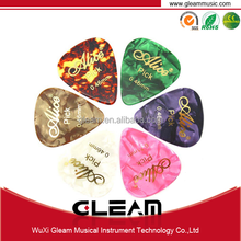 OEM guitar picks wholesale with triangle or water drop shape