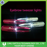 Shenzhen Professional Supplier For Make Up LED EyeBrow Tweezer For Exhibition Show