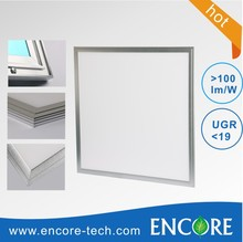 CE ROHS Approved Aluminum 600x600 Ceiling 40W LED Panel Lights Square