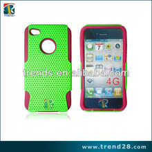 for iphone 4 back cover, exclusive combo mesh case