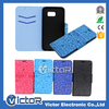 Mobile Phone Accessories Customized PU Leather Flip Cover with Card Slot Case for Samsung Galaxy S6