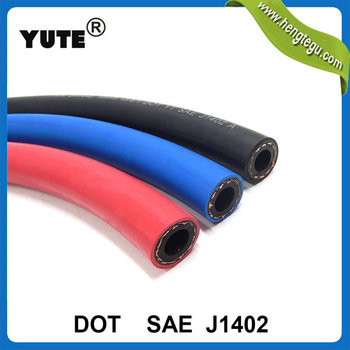 3/8'' used truck parts type a air brake hose assembly with dot certified