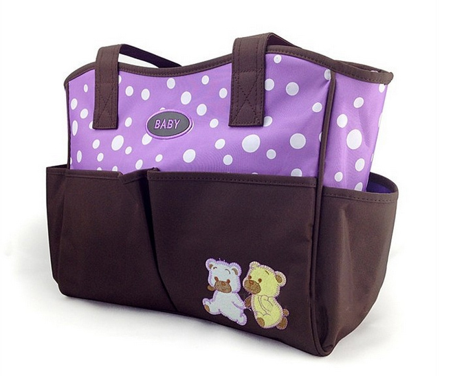 Adult Baby Diaper Bag With Multifunctional pockets