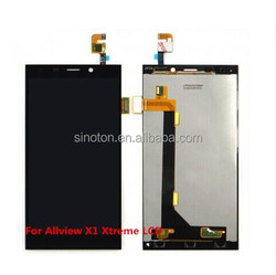 Black Color Allview X1 Xtreme LCD Display Assembly Touch Screen Digitizer Android Cell Phones Accessories