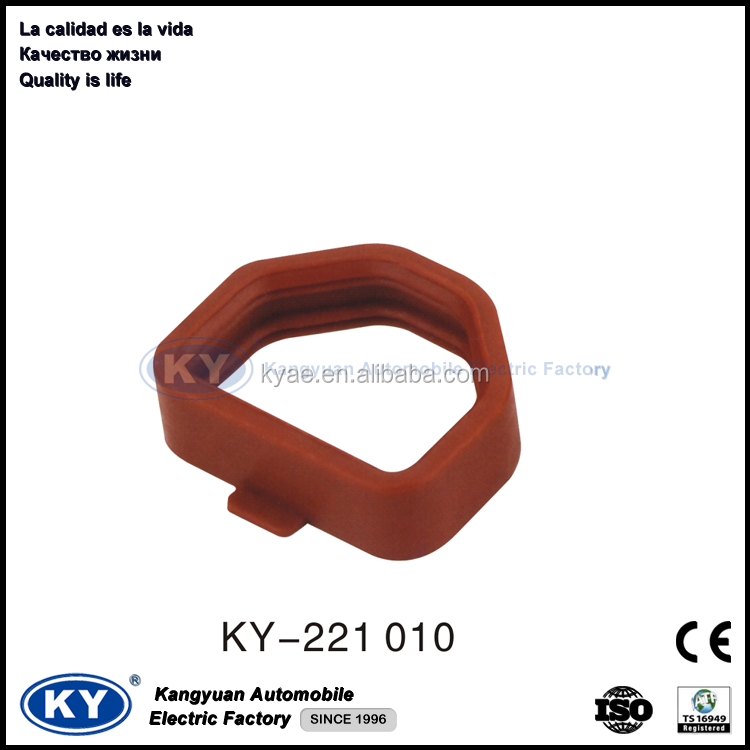 Red Silicon Rubber waterproof Gasket