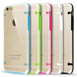 Glow PC TPU Bumper cover cheap mobile phone case for iphone 6