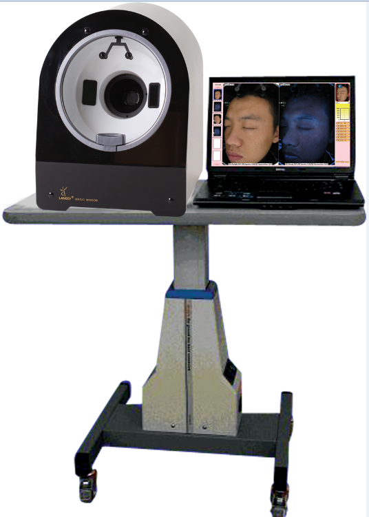 skin diagnostic & analysis &scope 3D skin analyzer