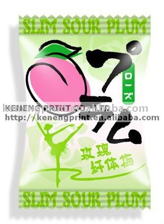 Delicious Sour Plum Packaging Film (Dry fruit Candy)