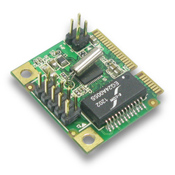 Mini PCI-Express Gigabit Ethernet Adapter Half Size 10M / 100M / 1000M Base-T LAN controller card