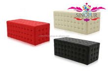 Made from SinoFur Best sale ottoman furniture