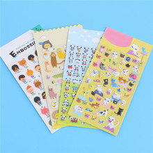 Kawaii 3d Cartoon Foam Sticker 1piece Cute Popular Style Children Gift Stickers