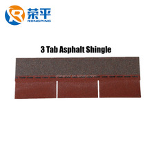 China Red Color Asphalt Shingles Roofing Tiles Long Span Roof Price