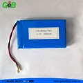 GEB 11.1V 3700mAh high energy density lipo battery